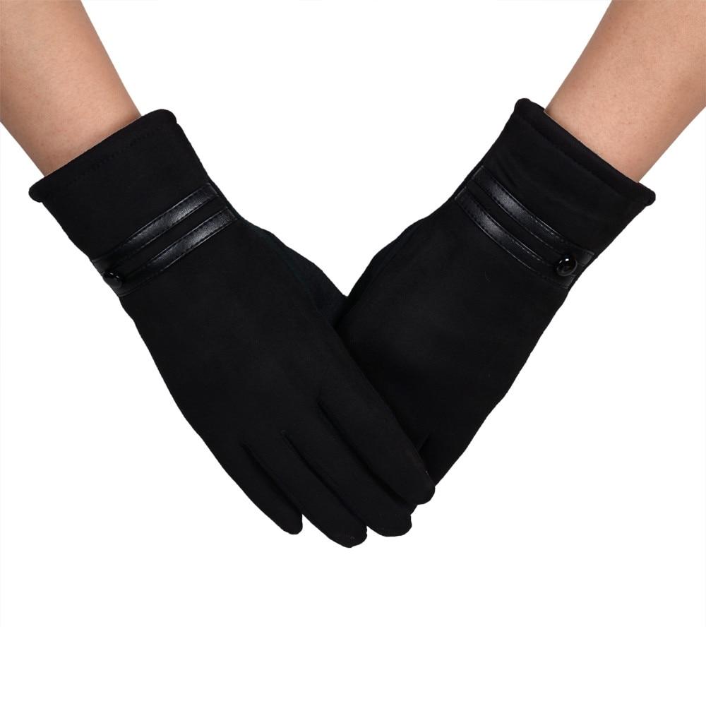 Women Winter Thermal Gloves Unisex Vintage Print Knit Twist Gloves Wool Women Winter Keep Warm Hand Gloves Gifts Mittens