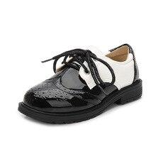 2019 Children Genuine Leather Wedding Dress Shoes for Boys Black School Kids Formal Flat Loafer Moccasins