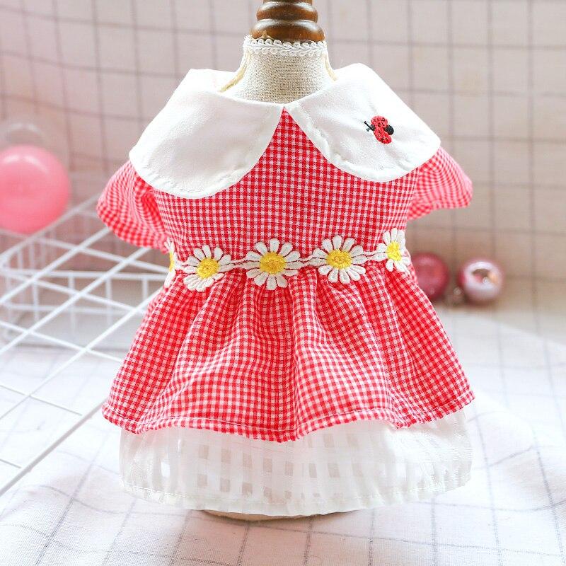 Купить ошейник для кукол милое платье собаки маленькая маргаритка с