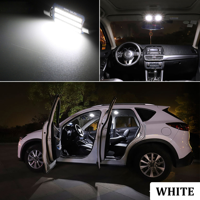BMTxms Canbus No Error Auto LED Interior Map Dome Trunk License Plate lamp light Kit For Dodge Grand Caravan 1996-2020 5