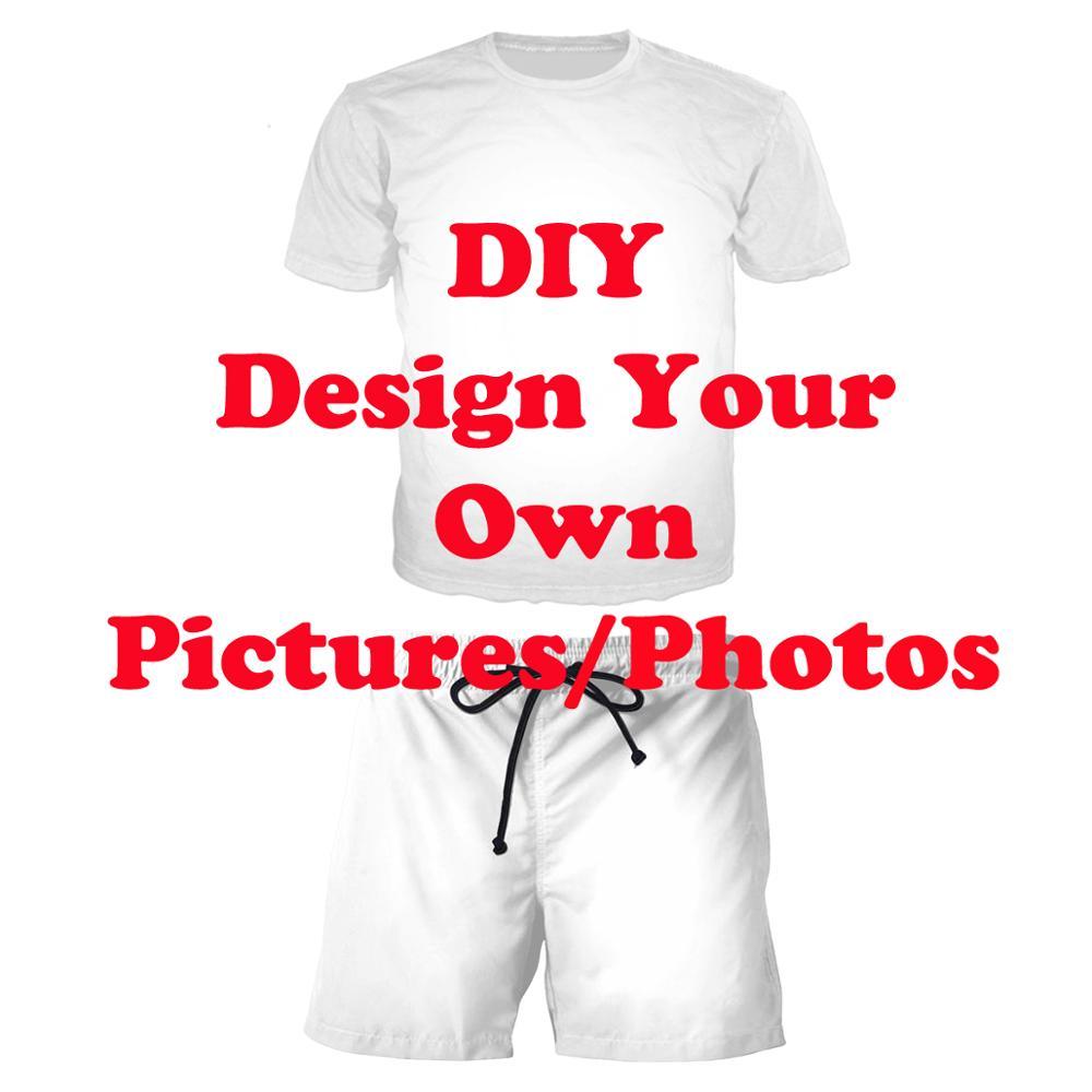 LIASOSO New Men Women Two Piece 3D Print DIY Custom Design Your Own Picture Photo Set Hip Hop Street Top Sweatshirt + Pants A000