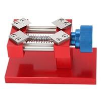 Vise Watch Repair Tool Jaw Sculpture Adjustable Screw Universal Aluminium Alloy Clamp Nutcracker Table Mini Clock Craft