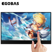 15,6 inch Tragbare Monitor Touchscreen 1080P HDR IPS Gaming Monitor USB TYP C HDMI für Telefon Laptop Desktop MAC schalter PS4 XBOX