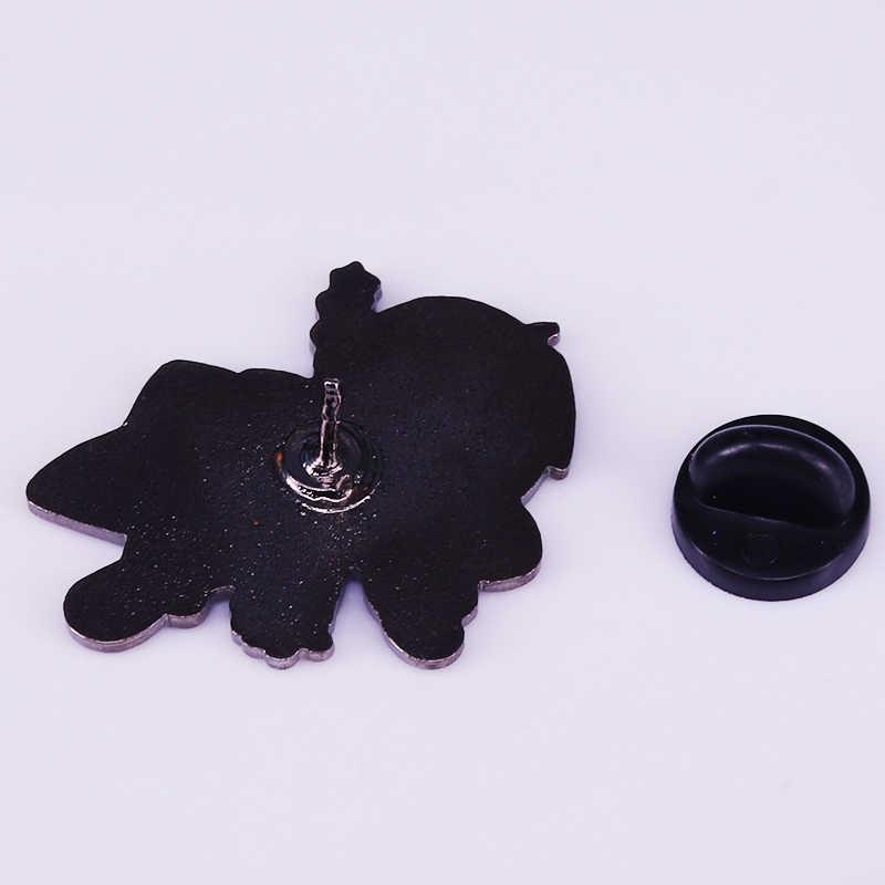 Fullmetal Alchemist enamel pin Edward Elric เข็มกลัด FMA อะนิเมะ badge Otaku ของขวัญแจ็คเก็ตกระเป๋าเป้สะพายหลัง decor