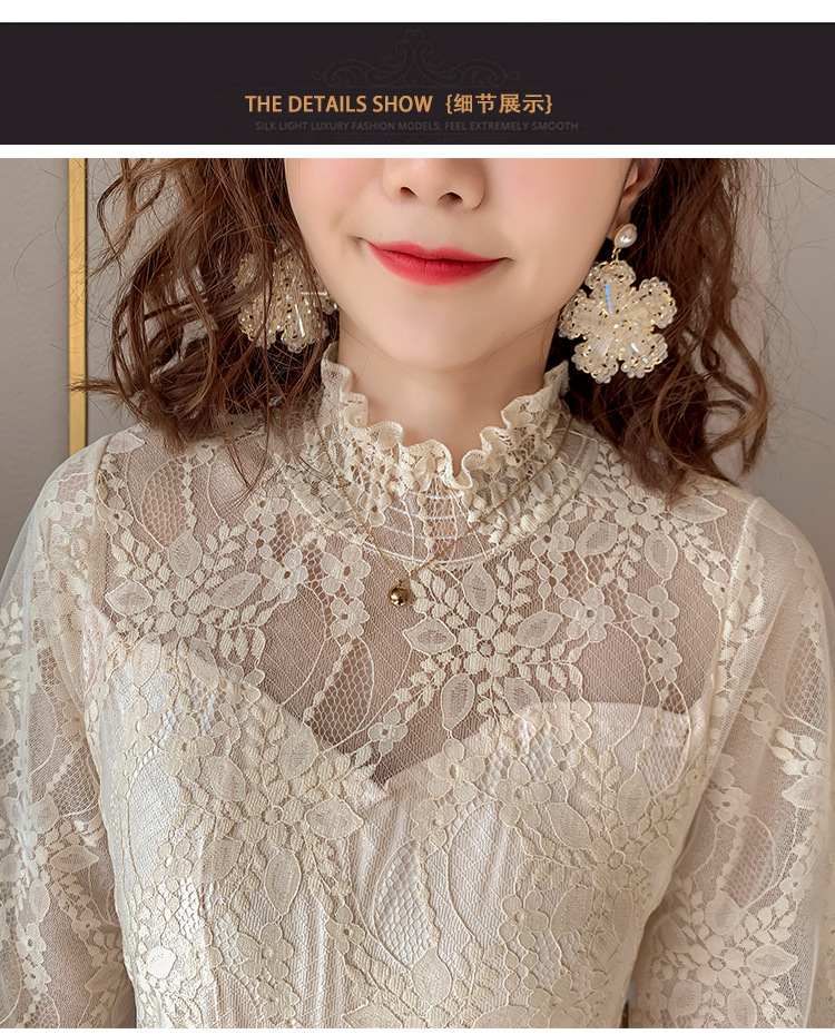 2020 Maternity clothing summer twinset lace maternity one-piece dress white embroidery maternity dress For Pregnant (18)