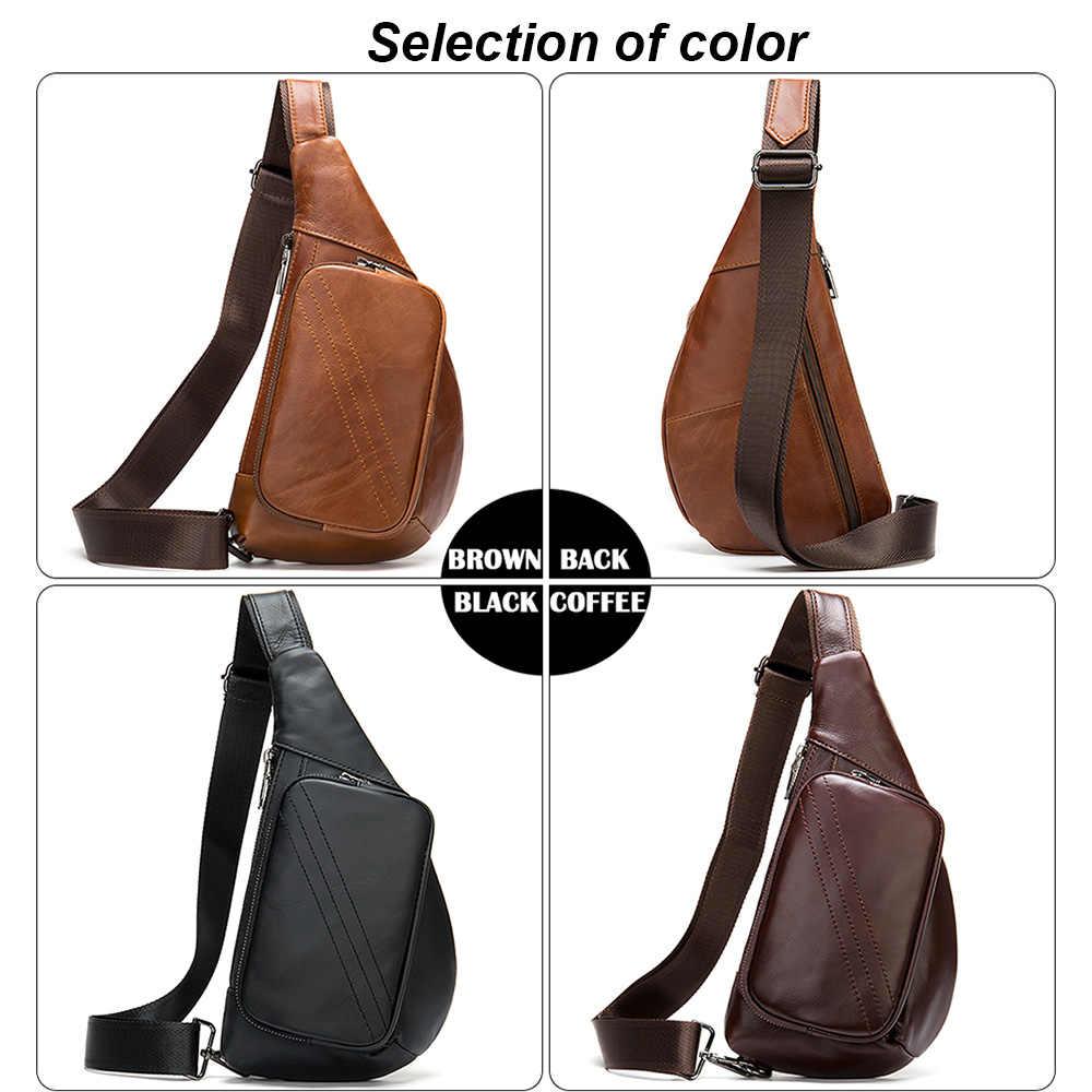 MVA 100% натуральная кожа мужская сумка через плечо мужская сумка-мессенджер маленькие сумки через плечо для мужчин нагрудный пакет кожаные сумки на ремне мужские