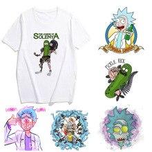 Showtly Rick and Morty Men/Women Funny Cartoon T Shirt Humor Ullzang T-shirt 90s Graphic Ts