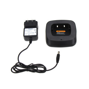 Walike Talkie Charger Base for Baofeng GT-3 GT-3TP GT3 GT3TP &GT-3 Mark-II Mark-III Two Way Radio with Adapter(China)