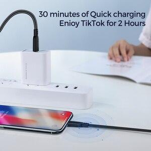 Image 5 - KUULAA MFi USB tip C yıldırım kablosu iPhone 12 Mini Pro Max 11X8 PD 20W hızlı USB C şarj veri kablosu için Macbook Pro
