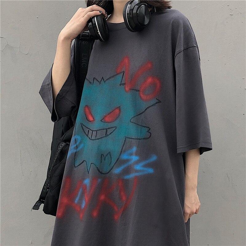 harajuku-grunge-t-shirt-summer-gothic-demon-tshirt-for-women-ladies-ulzzang-korean-style-clothes-streetwear-anime-font-b-pokemon-b-font