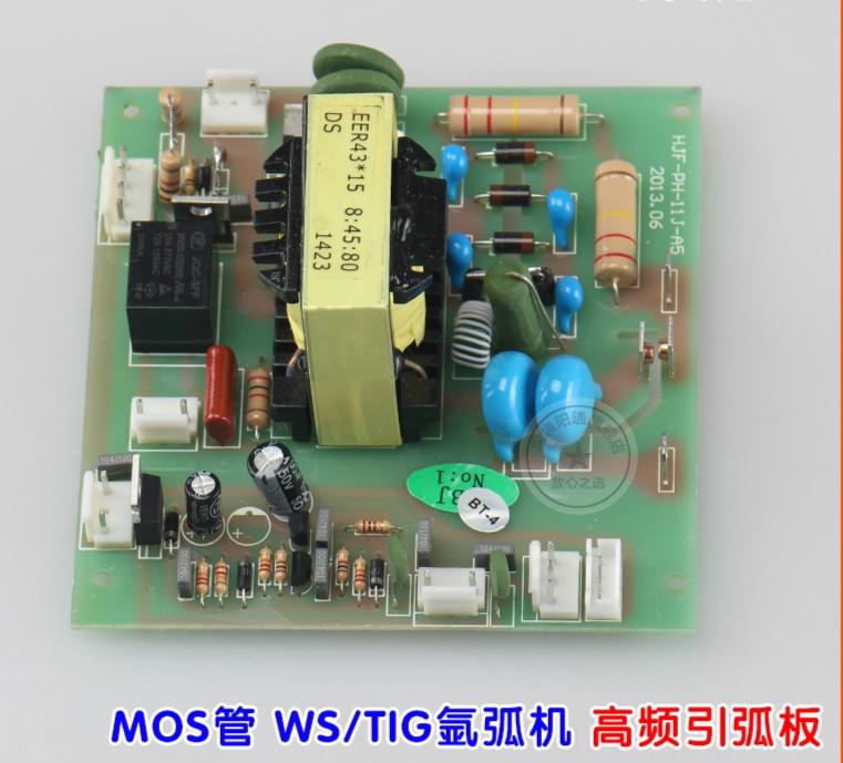 Argon Arc Welder Lighter Board WS/TIG-300/315/400 MOS Tube High Frequency Arc Ignition Board High Voltage Board 8:45:80