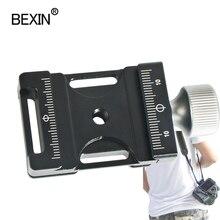 Pince de trépied dslr caméra bandoulière ceinture de sécurité pince tête de boule adaptateur montage pince rapide pince de fixation plaque pince pour Arca
