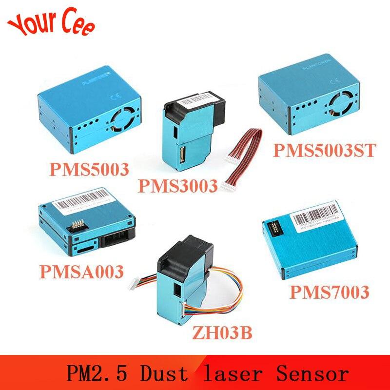 PMS5003 PMS7003 PMS5003ST PMS3003 PMSA003 ZH03B Sensor Module PM2.5 Air Particle Dust Laser Sensor PLANTOWER Electronic DIY
