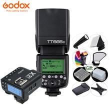 Godox luz de flash de câmera tt685, 2.4g hss 1/8000s gn60 sem fio speedlite TT685-C/n/s/o/f para canon nikon sony olympus fuji