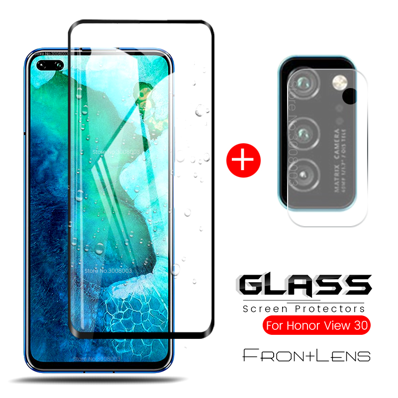 2-in-1 Camera Glass For Huawei Honor View30 Pro Camera Lens Film Tempered Glass On Honer V 30 View 30 30Pro View30Pro V30 V30Pro
