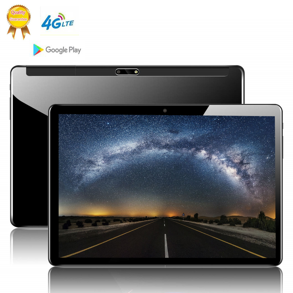 2020 128G MID Globale Version Android 9.0 OS <font><b>10</b></font>,1 zoll <font><b>tablet</b></font> <font><b>Octa</b></font> <font><b>Core</b></font> 6GB RAM 128GB ROM 1280*800 Dual SIM Karten <font><b>Tablet</b></font> <font><b>10</b></font> image