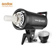 Godox SK400II 400Ws GN65 전문 스튜디오 플래시 스트로브 내장 2.4G 무선 X 시스템 크리 에이 티브 슈팅 SK400 업 그레 이드