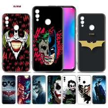 Batman Joker Dark Knight Case for Huawei Honor 9X 8X Y9 20 9s 10 Lite Play 8C 8A Pro V20 20i Y6 Y7 2019 Soft Phone coque(China)