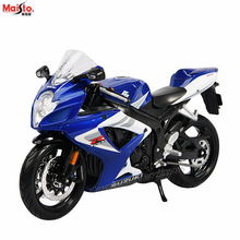 Maisto 1:12 Suzuki GSX- R750 Scrambler simulation alloy motocross Series original authorized motorcycle model toy car Collecting gifts