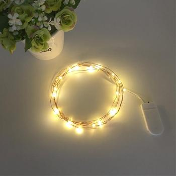 Flower Cake Decoration Lights Durable Practical And Beautiful LED Decoration Copper Wire Light 1 Meter image