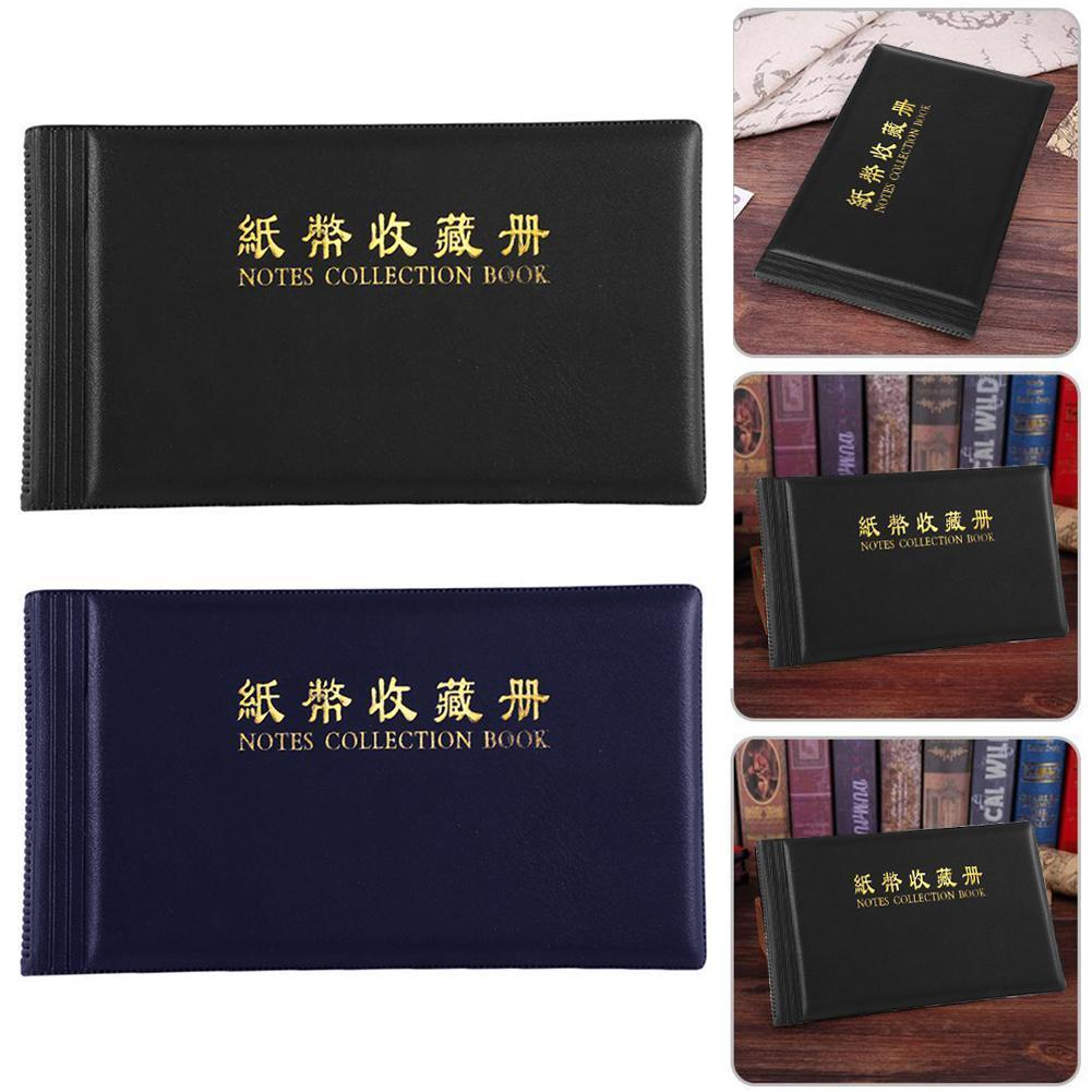 High Capacity Paper Money Collection Book Rmb Coin Folder Protection Collection Commemorative Coin Storage Book Bags Coin A K2R7