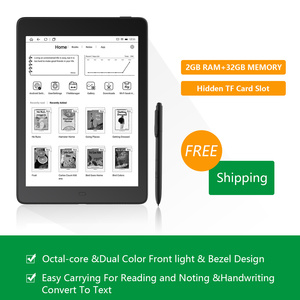 "2019 NEW Arrival Boyue likebook Ares note 7.8"" Ebook reader Ereader 2G/32GB 8-core bezel Design with SD card to 128GB(China)"