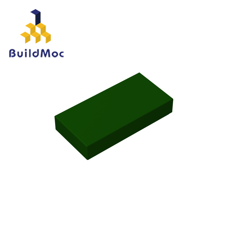 BuildMOC Compatible Assembles Particles 3069 Tile 1 X 2 For Building Blocks Parts DIY LOGO Educational Gift Toys