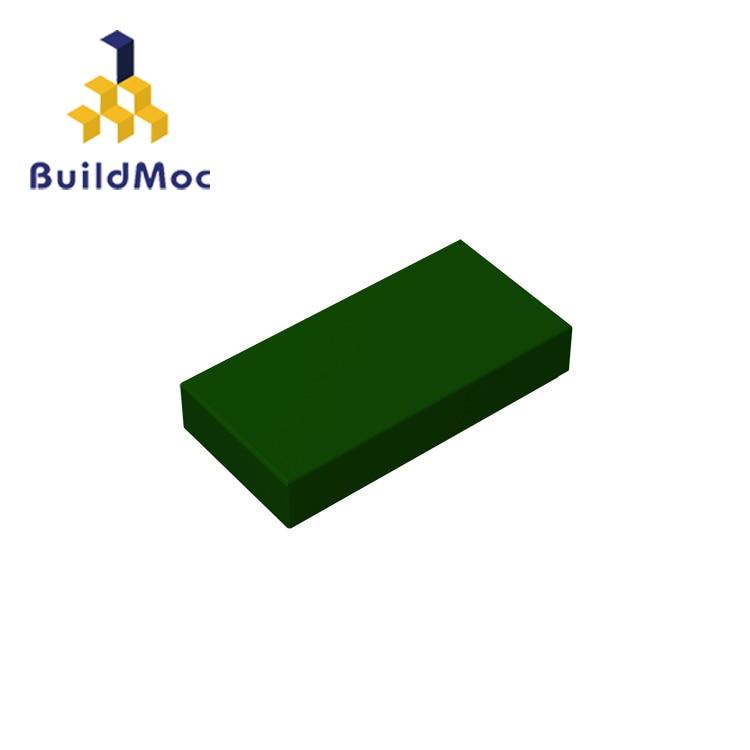 BuildMOC Compatible Assembles Particles 3069 Tile 1 X 2 For Building Blocks Parts DIY LOGO Educational Gift Toys