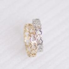 Venda quente anel de dedo 1 pçs aço inoxidável urso jóias moda jóias topo-grau chapeado preço de fábrica atacado