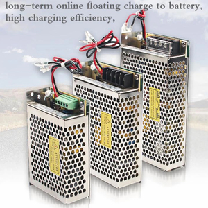 SC-35/60/120/180/350 -12/24V Power Supply Smps with battery function Charging 13.8V13.4V 27.6V26.5V with UPS charge Shiniu Brand
