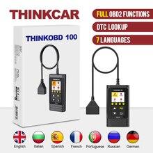 Thinkcar thinkobd 100すべてOBD2機能dtc参照vinライブデータリセットエンジンライト診断車スキャナー診断ツール
