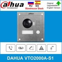 Dahua Original VTO2000A S1 video intercom 2 Wire IP Outdoor Station video doorbell Night vision Upgrade from VTO2000A