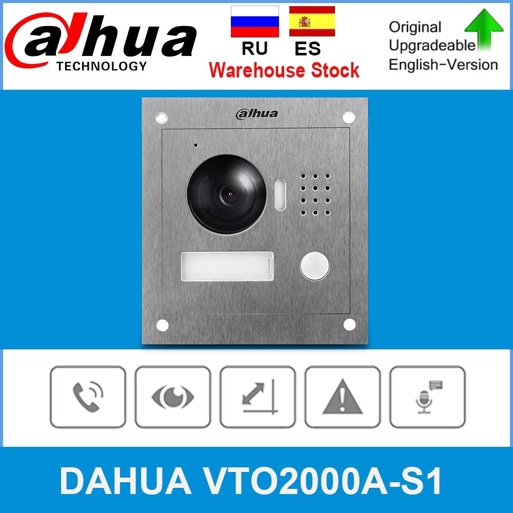Dahua Original VTO2000A-S1 video intercom 2-Wire IP Outdoor Station video doorbell Night vision Upgrade from VTO2000A
