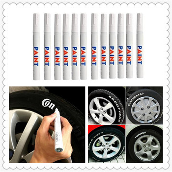 Car Accessories Tyre Tire Tread Permanent Paint Marker Oily for BMW F80 M3 E46 E39 320si 630i E34 750i 330i 325i image