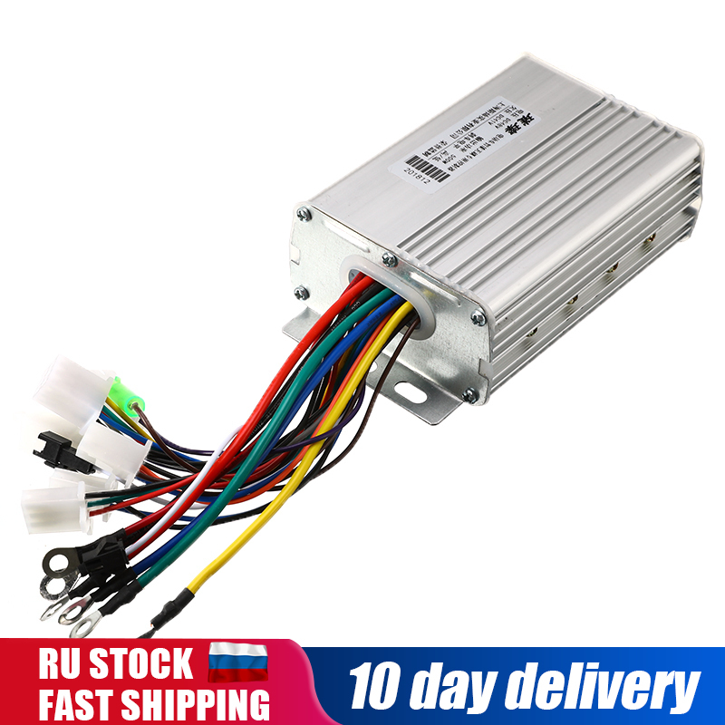 30A 500W 48V 60V Intelligent Brushless Special Motor Controller For Electric Bike Tricycle Electric Vehicle Parts Scooters Bike