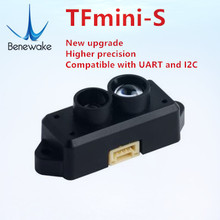 Shipment from China and Russia warehouse TFmini S Lidar Range Finder Sensor Module 0.1 12m  Ranging for  Pixhawk Drone UART &IIC