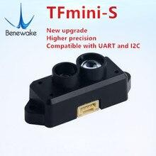 משלוח מסין ורוסיה מחסן TFmini S Lidar טווח Finder חיישן מודול 0.1 12m החל עבור pixhawk Drone UART & IIC