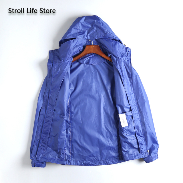 Waterproof Jacket Rain Coat Women Lightweight Breathable Hiking Travel Yellow Raincoat Rain Cover Partner Capa De Chuva Gift 1