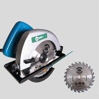 Portátil serra elétrica multifuncional máquina de corte de madeira serra circular elétrica da ferramenta de poder|Acessórios para ferramenta elétrica| |  -