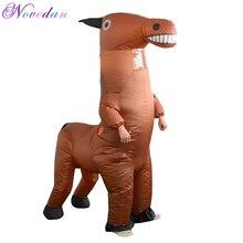 Costumes cheval gonflables, poupées amusantes, Costumes de spectacle Halloween et carnaval, pour femmes et hommes