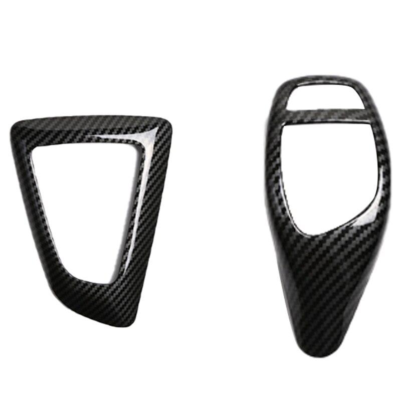 Car Interior Accessories ABS Gear Shift Cover Trim Car Stickers For BMW F30 F20 F21 F25 F26 F15 F16 F10 F07 F34 3Gt 5Gt Series
