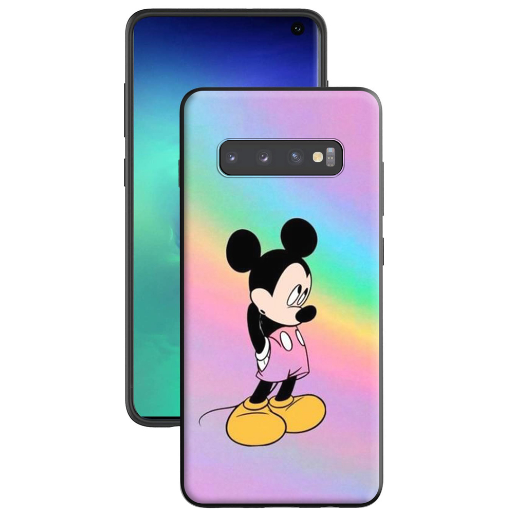 Minnie Mouse Girls Cute Silicone Case For Samsung Galaxy Note 10 9 8 S20 S10 S10E S9 S8 Plus Ultra Lite S7 Edge