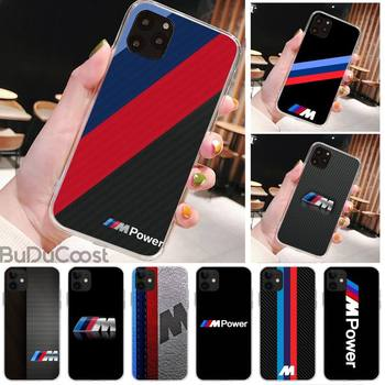Sports car BMW Phone Case for iPhone 8 7 6 6S Plus X 5S SE 2020 XR 11 pro XS MAX 12 12Mini image