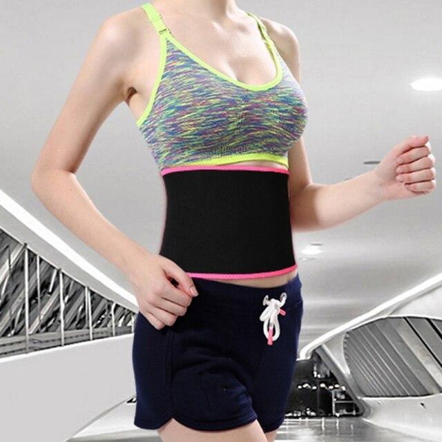 Waist Trimmer Belt Weight Loss Sweat Band Wrap Fat Tummy Stomach Sauna Sweat Belt Sport Safe Accessories 4