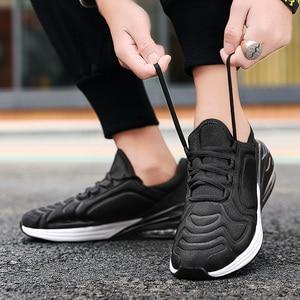 Image 5 - Tennis souples pour hommes, chaussures De Couple à coussin De créateur, De créateur, collection décontracté
