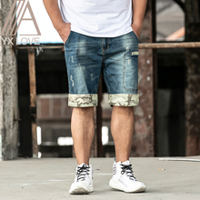 2020 New jeans Mens Casual Shorts Pants Plus 28-48 Size Cool Streetwear Comfortable Summer