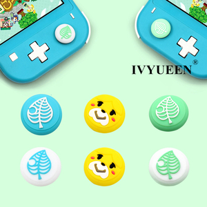 Image 1 - IVYUEEN for NintendoSwitch NS Lite Animal Crossing Analog Thumb Stick Grips for Nintend Swith Joy Con JoyCon Joystick Cap Cover