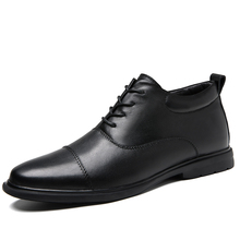 SHOES ITALIAN OFFICE WEDDING FORMAL BLACK FASHION PATENT Lace-Up MEN