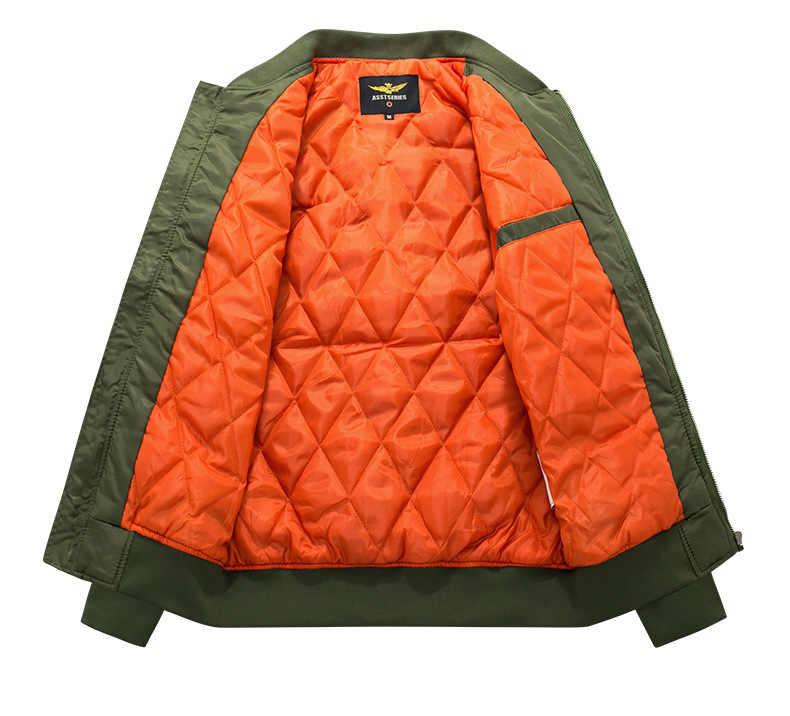 2019 chaquetas de abrigo de Otoño/Invierno para hombres Hip Hop Army abrigos para hombres motociclismo Streetwear estilo militar chaquetas de hombre Zip Bomber chaquetas