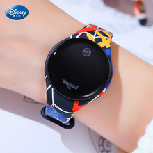 Disney Mickey Mouse Digital Watch Spiderman Kids Watch Froze